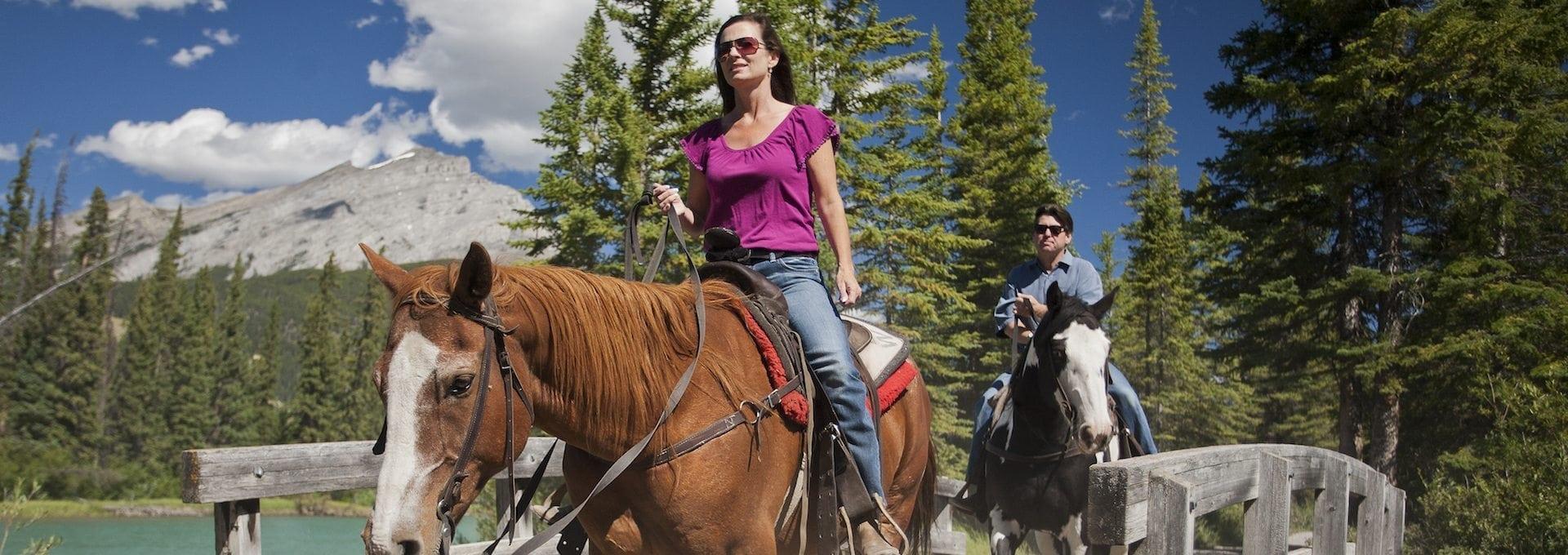 Horseback Ride – Bow River 1Hr