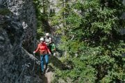 Banff Mt Norquay Explorer Route on the Via Ferrata with Discover Banff Tours
