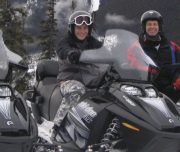 Banff Snowmobile Tour
