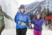 Banff Snowshoeing Race with Discover Banff Tours