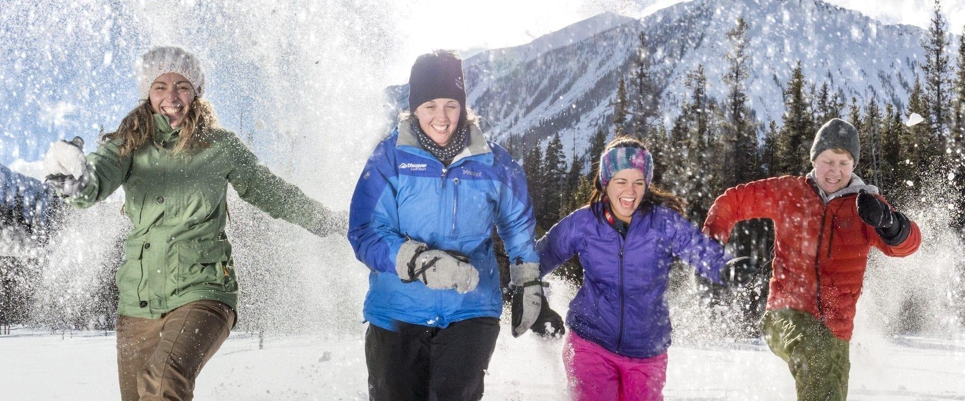 Snowshoeing Tour to Paint Pots