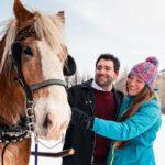 Banff private sleigh ride