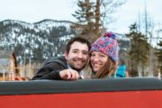 Banff private winter sleigh ride in the Canadian Rockies