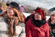 Banff winter sleigh ride