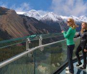 Glacier Skywalk on the Jasper to Lake Louise and Banff Tour