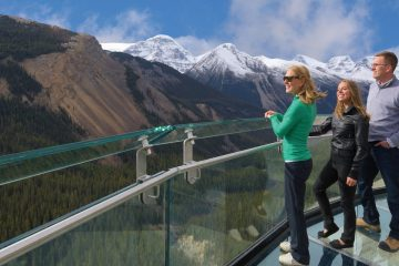 Glacier Skywalk on the Jasper to Lake Louise and Banff Tour
