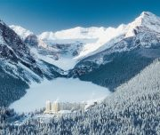 Discover Lake Louise Winter Lake Louise Chateau