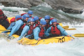 Chinook Rafting Horseshoe Canyon Whitewater Rafting