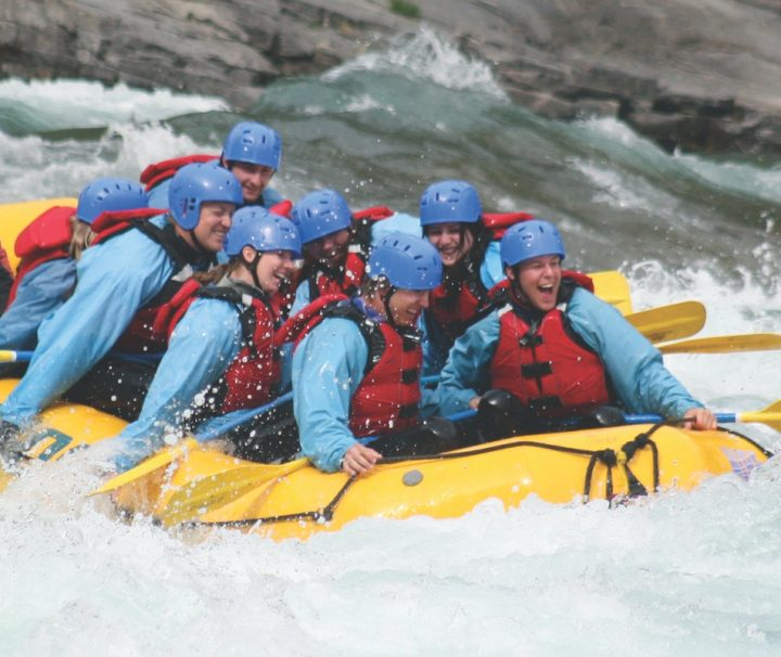 Chinook Rafting Horseshoe Canyon Whitewater Rafting