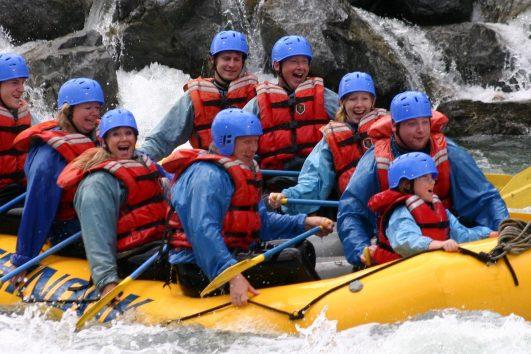 Chinook Rafting Kananaskis River