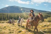 Horseback Ride to a Cowboy Steak Cookout with Discover Banff Tours