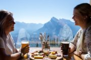 Dine at the Cliffhouse Bistro at Mt Norquay