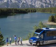 Discover Banff Tours Sightseeing Coach Bus