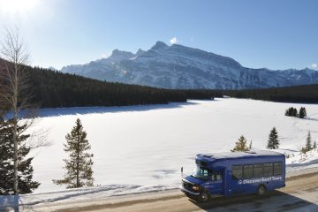 Banff sightseeing tours in winter