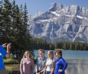 Discover Banff and Its Wildlife Photos at Two Jack Lake