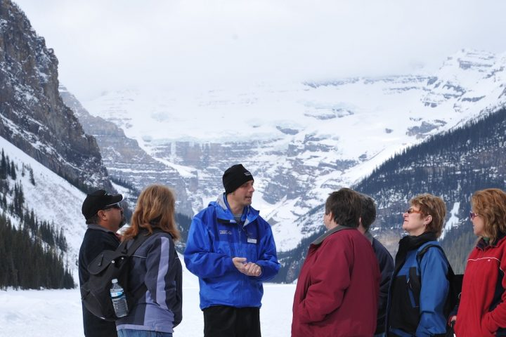 Discover Lake Louise Winter