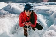 Drink glacier water on the Icefields Parkway Tour with Discover Banff Tours