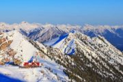 Eagle's Eye Restaurant at Kicking Horse Mountain Resort is Canada's most elevated dining experience