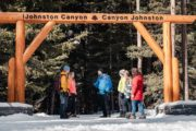 Guided icewalk at Johnston Canyon in Banff with Discover Banff Tours