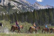 Horseback Ride Banff Trail Riders