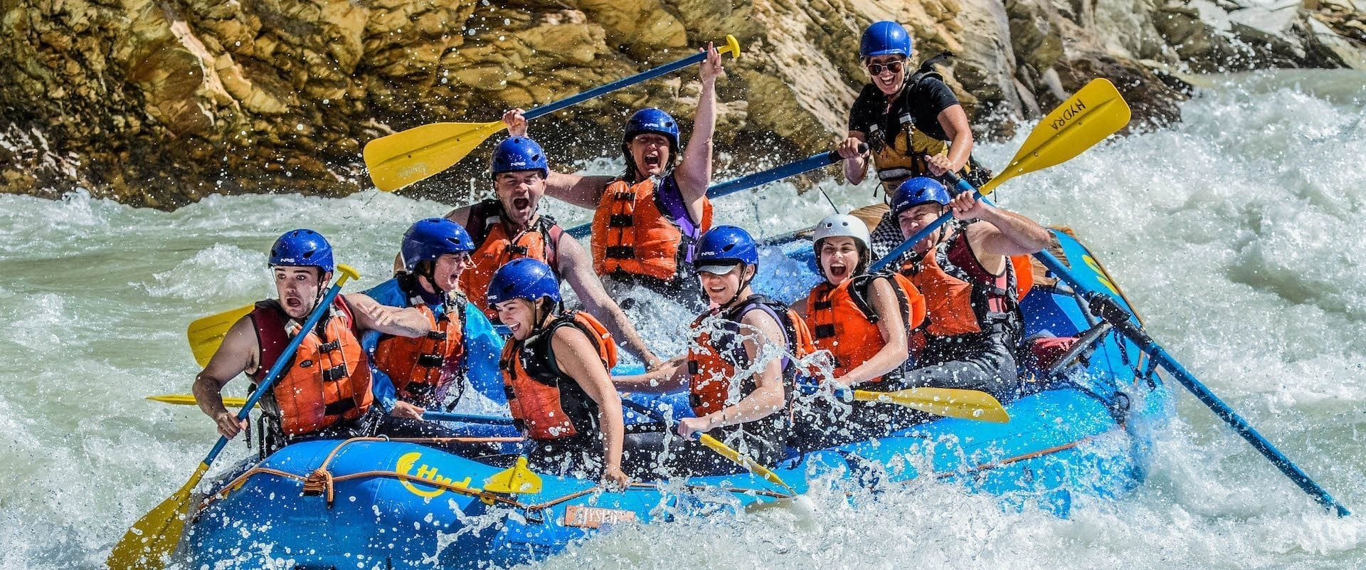 Kicking Horse River Classic Whitewater Rafting