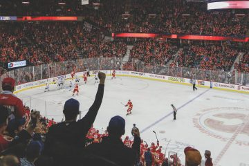 Ice Hockey at the Calgary Saddledome with Discover Banff Tours