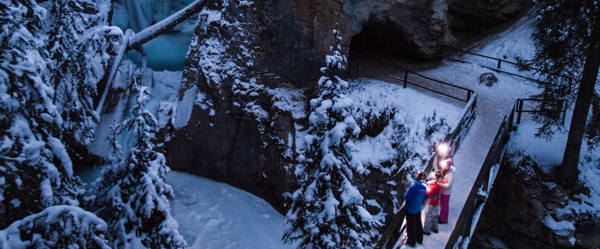 Johnston Canyon Evening Icewalk®