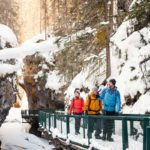Johnston Canyon Guided Icewalk with Discover Banff Tours
