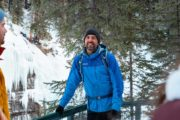 Learn from your friendly guide on the Johnston Canyon Icewalk with Discover Banff Tours