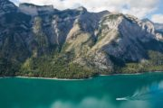 Lake Minnewanka Boat Cruise Views