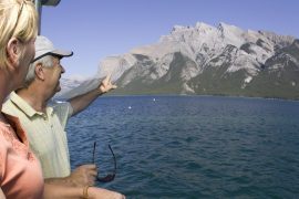 Lake Minnewanka Lake Cruise Boat Tour