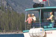 Lake Minnewanka 12, Lake Cruiser Rear View