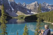 Moraine Lake in Summer