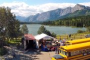 Nakoda Lakeside Lodge Chinook Rafting
