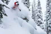 Powder backcountry heli skiing