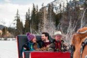 Private winter sleigh ride