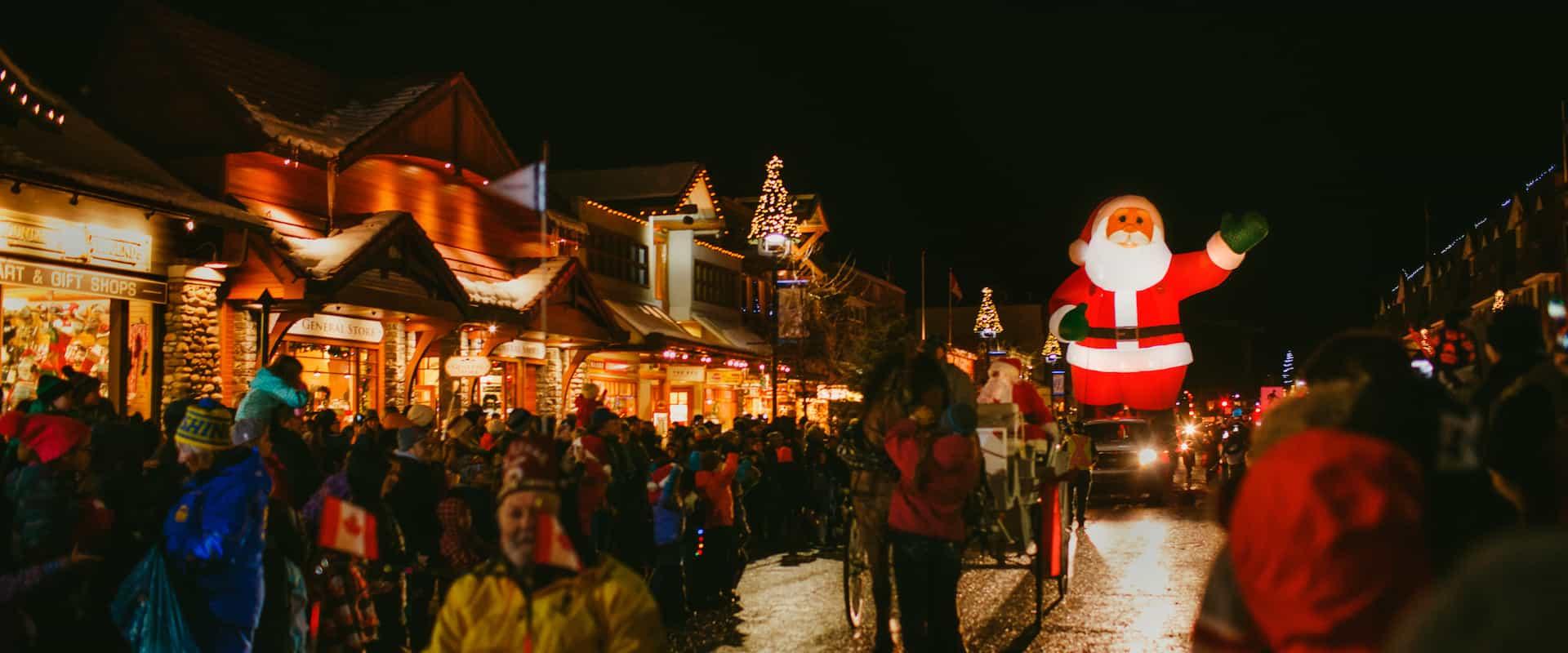 Santa Claus Banff Parade