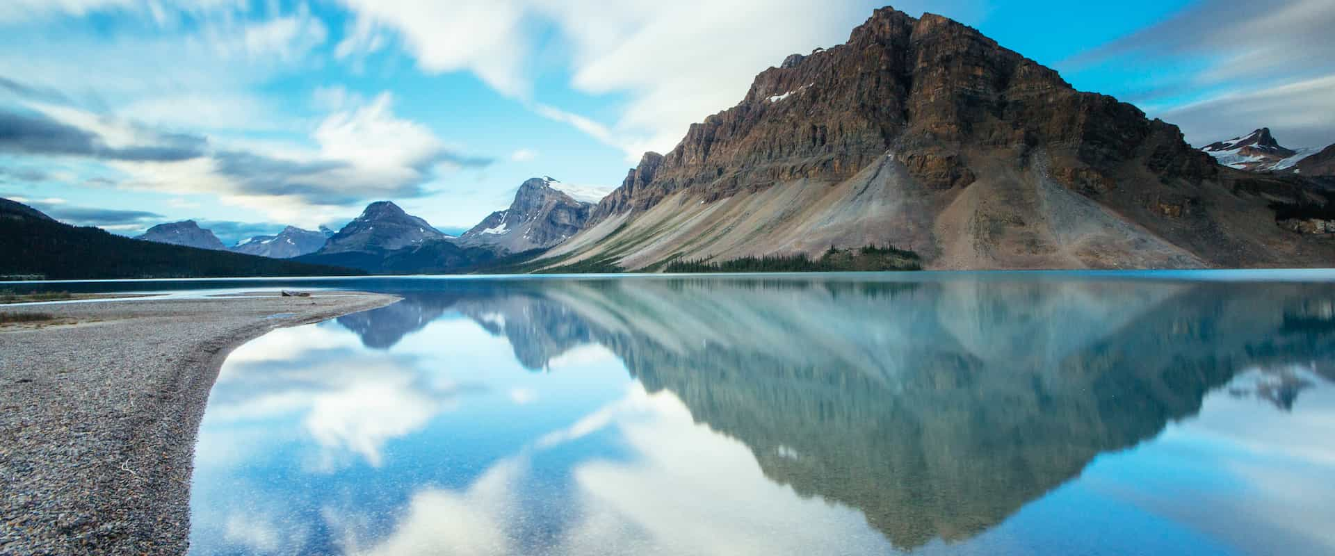 See Bow Lake on the Columbia Icefields Parkway Tour with Discover Banff Tours in the Canadian Rockies
