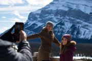 See Hoodoos Viewpoint on a Banff winter tour with Discover Banff Tours