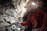 See ancient bones on a Canmore Cave Tour in the Canadian Rockies