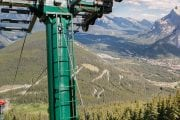 See over Banff on the Banff SIghtseeing Chairlift