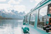 Sightsee on a Maligne Lake cruise in Jasper