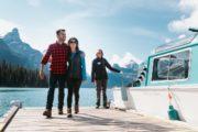 Take a cruise on Maligne Lake in Jasper