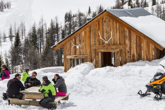 Paradise Basin Snowmobile Tour