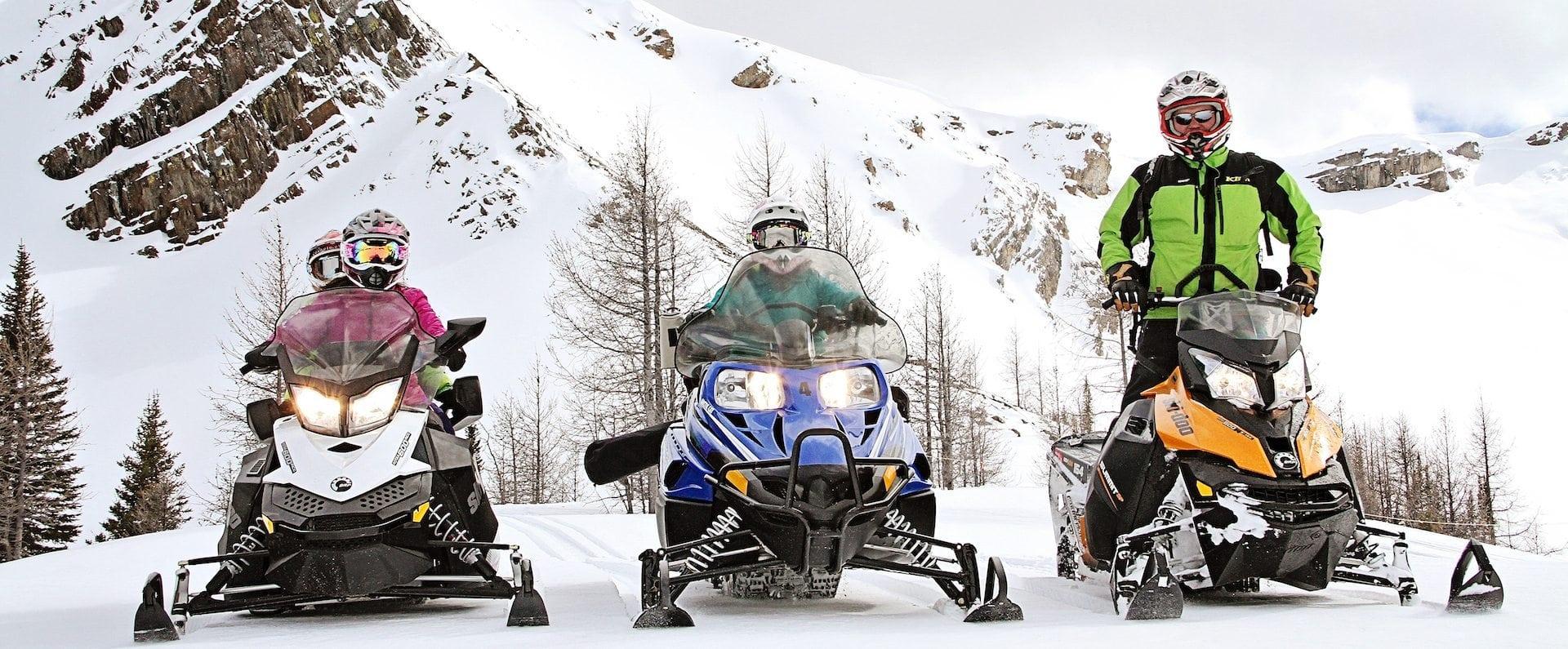 Paradise Mine Snowmobiling