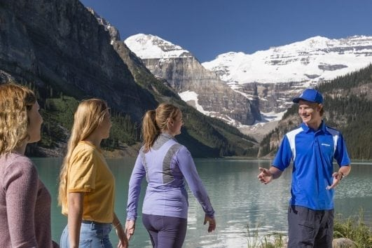 See Lake Louise with Discover Banff Tours