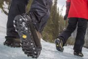 Wear ice cleats on a Banff icewalk tour with Discover Banff Tours
