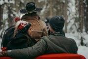 Take a winter sleigh ride at Lake Louise on the Discover Lake Louise winter tour with Discover Banff Tours