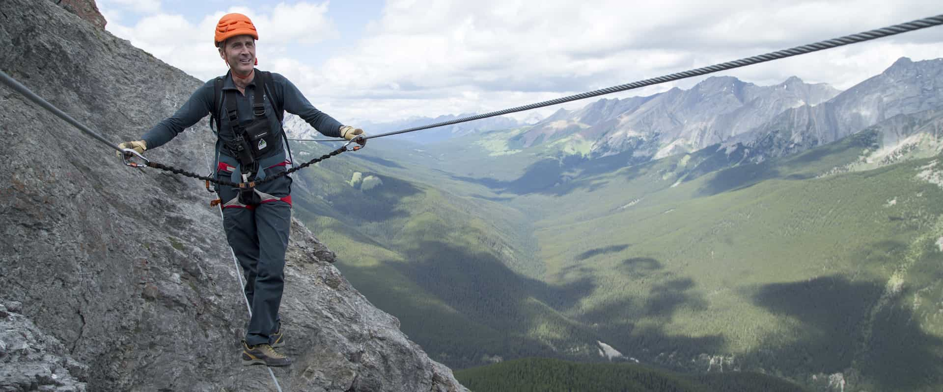 Banff Via Ferrata Summiteer 6 Hours - Discover Banff Tours