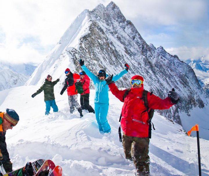 Heli Ski near Banff